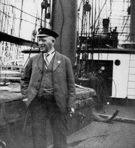 Gustaf Erikson, armador finalndés que compró muchos veleros y mantuvo la ruta de Australia