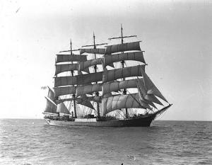 """El """"Pamir"""" cuyo trágico final supuso el fin de una era (Australian National Maritime Museum)"""