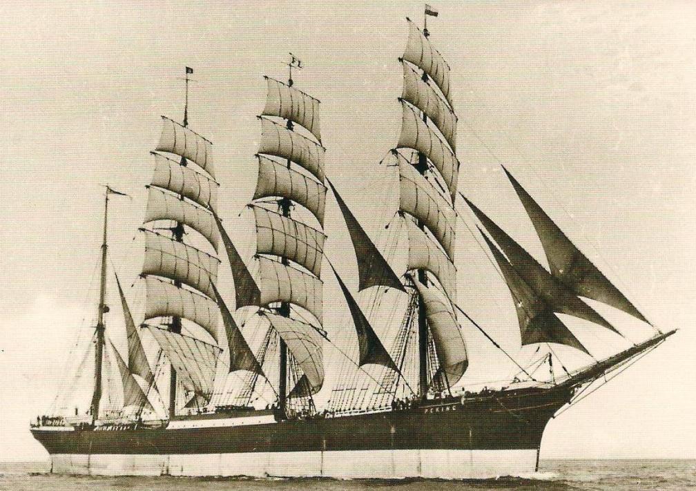 """El """"Peking"""", actualmente museo flotante en Nueva York"""