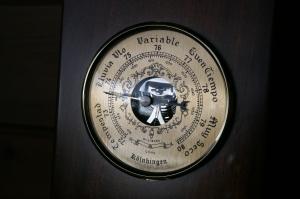 El barómetro nos avisará con una bajada contínua y rápida de la proximidad de una Galerna (Fotografía: Alfonso Hernández)